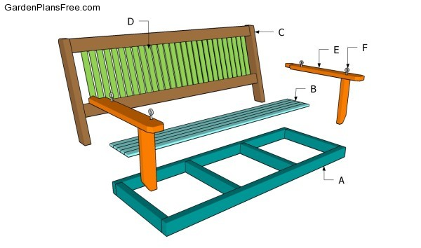 Hanging Porch Swing Bed Plans Diywoodplans