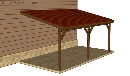Woodwork plans carport attached pdf plans for Carport plans pdf