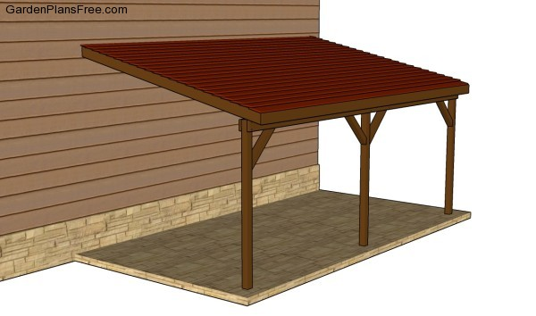 Wood Carport Building Plans : Attached carport plans free garden how to build