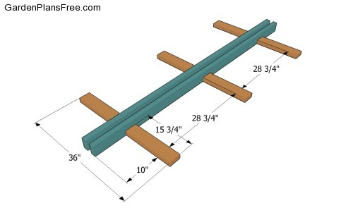 woodworking plans hammock stand