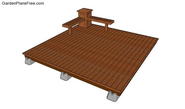 Deck Plans Free Garden