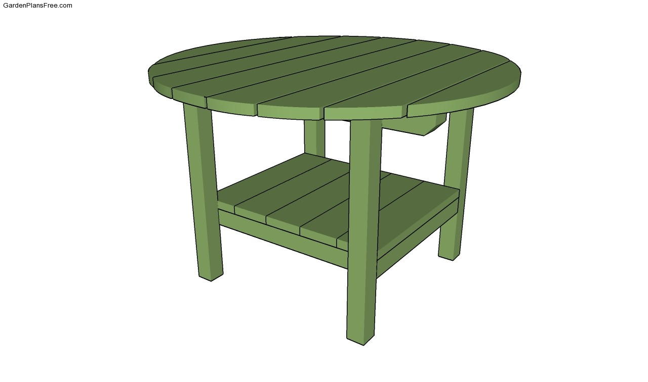 Backyard Table Plans : Chair Plans Coffee Table Plans Free Play Table Plans Patio Table Plans