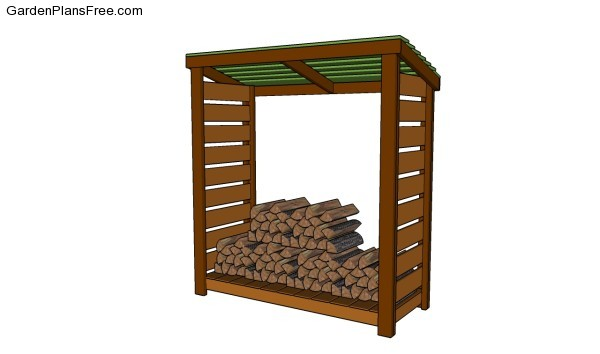 Wood shed plans free