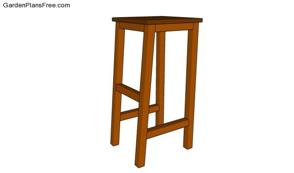 Bar stool plans