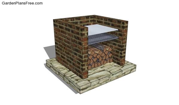 design bbq grill design ideas inspiring garden and landscape brick smokehouse construction youtube - Bbq Grill Design Ideas