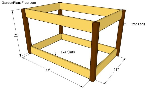 diy wood deck box. building the frame of deck box diy wood n