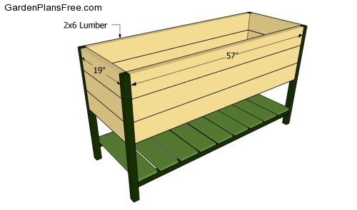 Vegetable Planter Box Construction