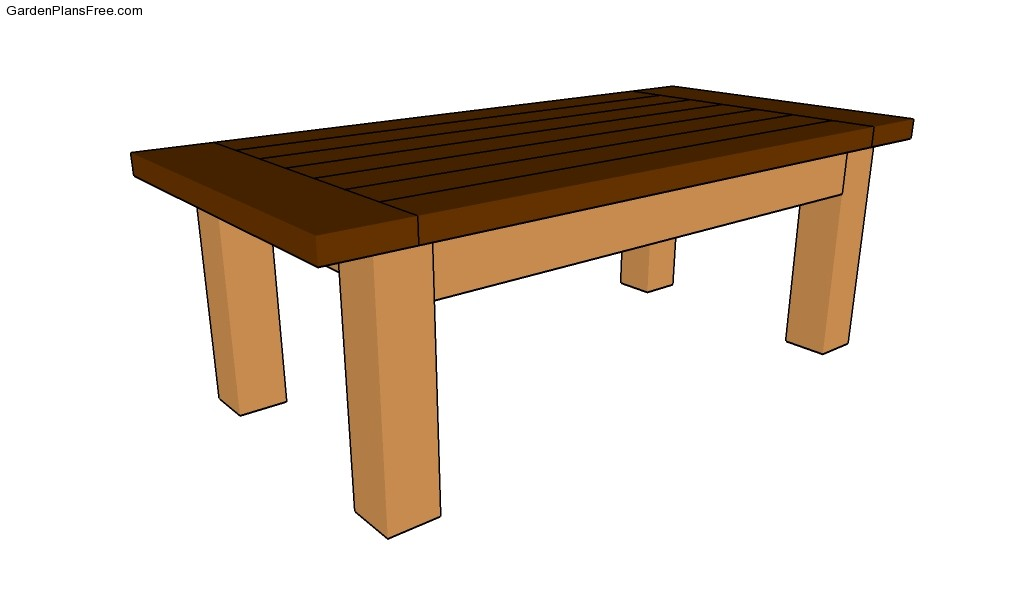 Free Coffee Table Plans Free Garden Plans How To Build Garden