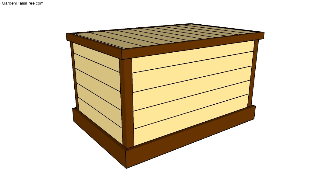 Deck box plans for Deck garden box designs