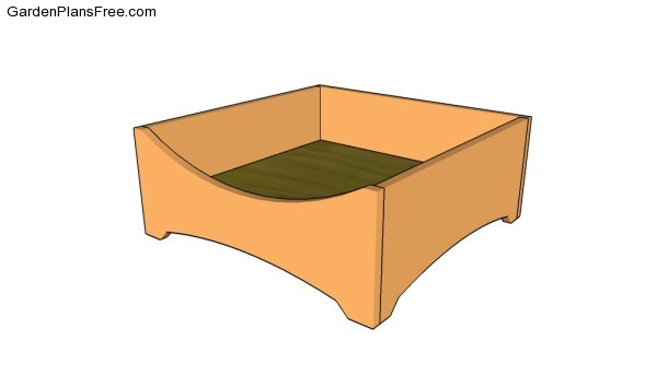 Dog bed frame plans