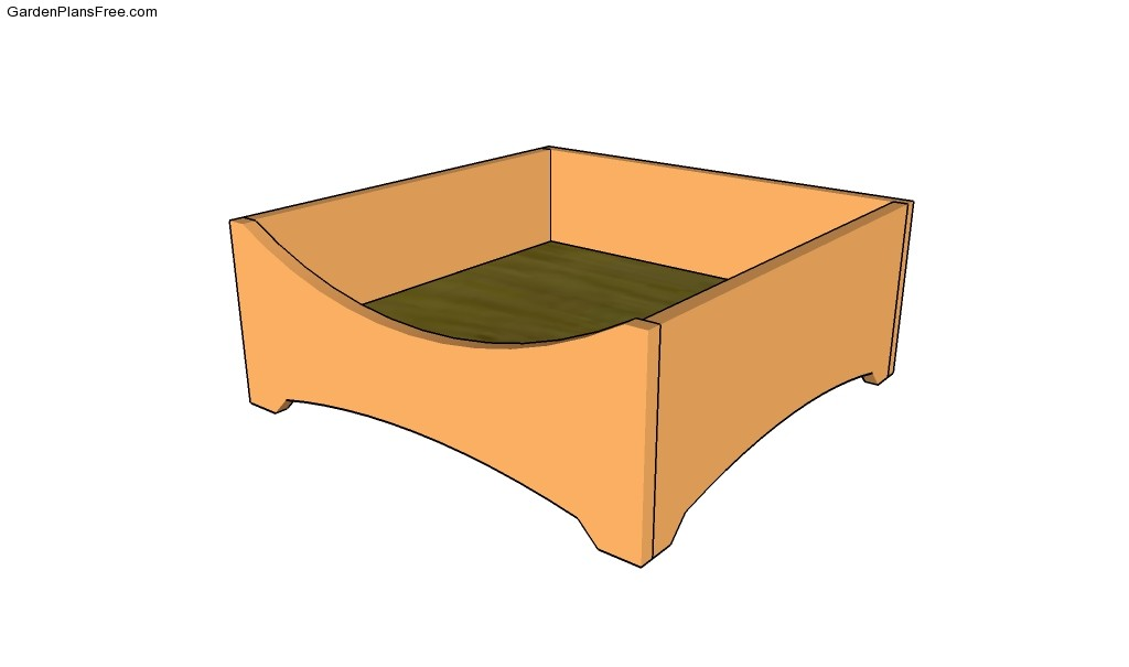 ... Dog+Bed+Plans Raised Garden Bed Plans Free Flower Box Plans Dog Bed