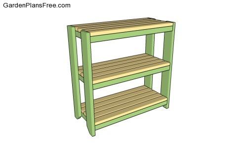 garden shelf plans