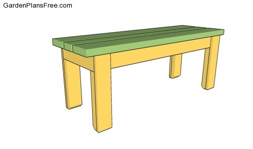 Wood Bench Plans | Free Garden Plans - How to build garden projects