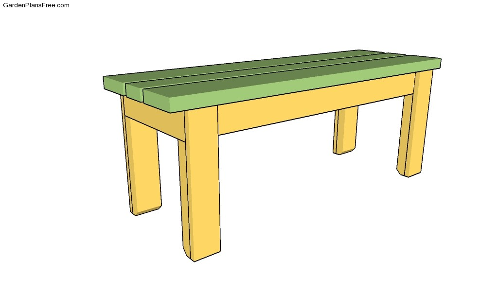 Permalink to free plans for wood garden bench