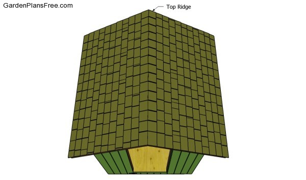 Fitting the top ridge