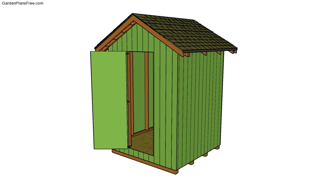 Garden Shed Plans Free Small Shed Plans Lean To Shed Plans Free ...