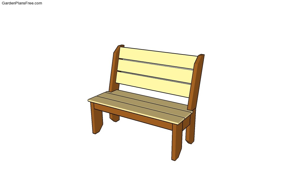 free woodworking garden bench plans | Quick Woodworking Projects
