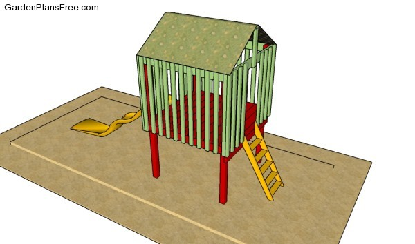 Backyard fort plans