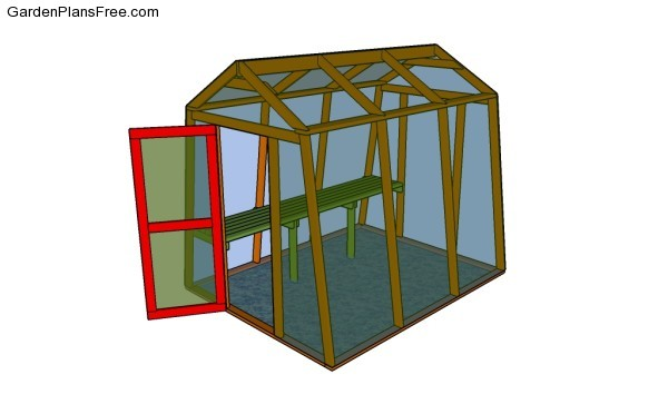 Backyard greenhouse plans