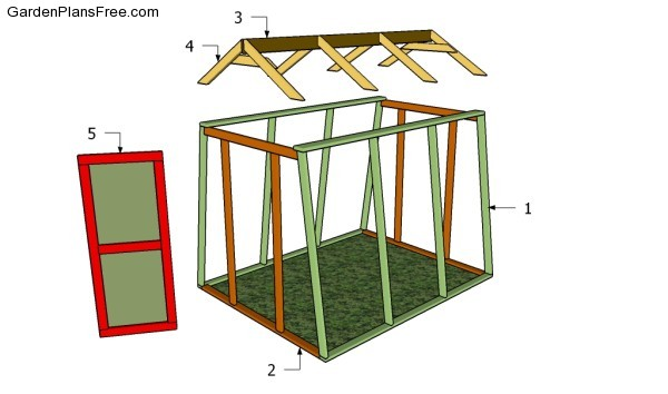 Building a backyard greenhouse