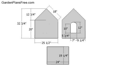 Pics photos small dog house plans - Small dog house blueprints ...