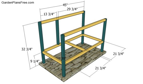 Rabbit hutch plans free free garden plans how to build for How to build a rabbit hutch plans free