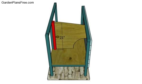 Building the splitting walls