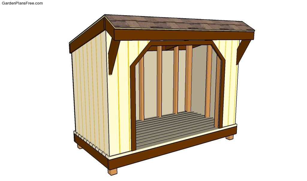 Simple Wood Shed Plans Free Garden Plans How To Build