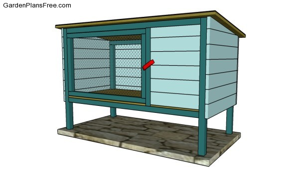 rabbit hutch plans free free garden plans how to build