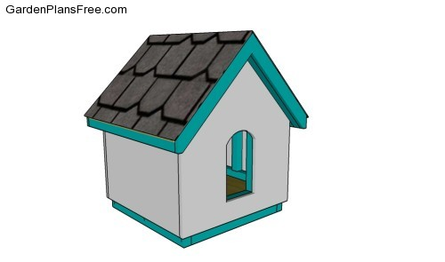 Small dog house plans free garden plans how to build - Small dog house blueprints ...