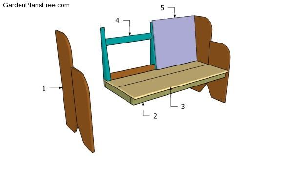 Building a garden bench