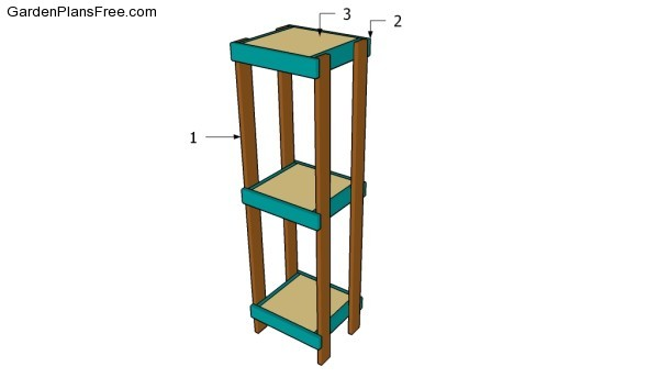Building a plant stand