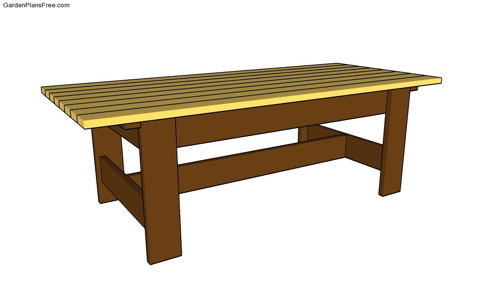 Free Coffee Table Plans Work Table Plans Pedestal Table Plans Outdoor