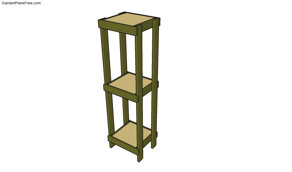 Outdoor Plant Stand Plans Plans Diy Free Download Wood End