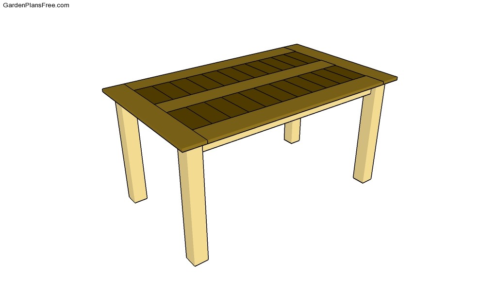 Backyard Table Plans : Table Plans Work Table Plans Pedestal Table Plans Outdoor Table Plans