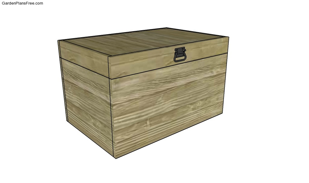 Toy Box Plans Free Wood Chest Plans Wooden Box Plans