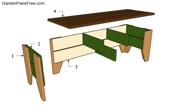 Garden Bench Plans | Free Garden Plans - How to build garden projects