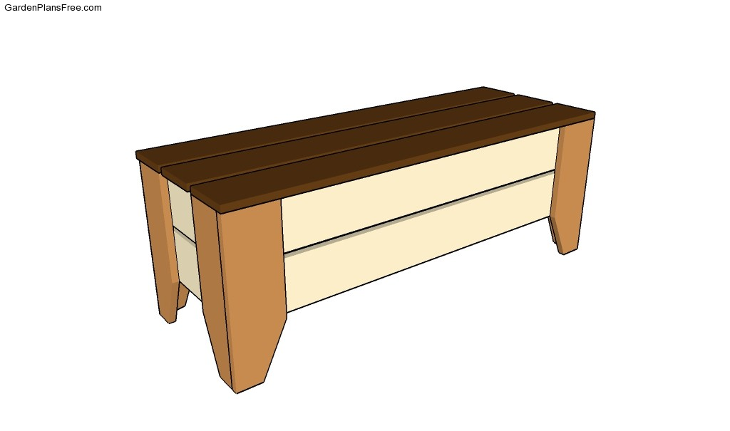 Garden Bench Plans Free Garden Plans How To Build Garden Projects