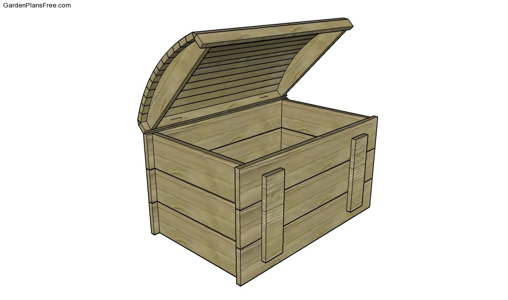 Wood Chest Plans | Free Garden Plans - How to build garden projects