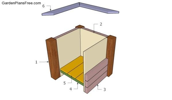 Building a deck planter