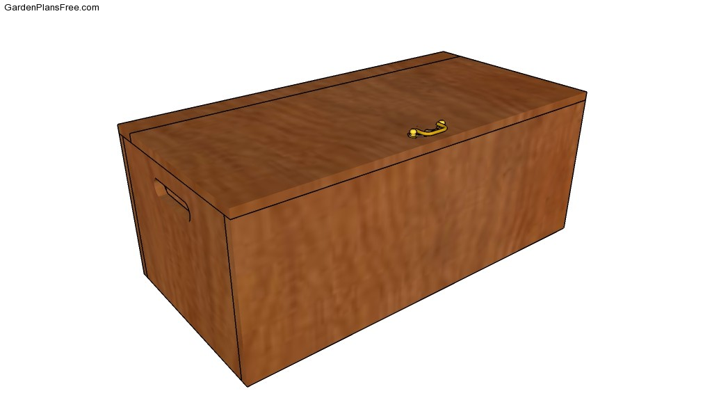 Treasure Chest Plans Storage Bench Plans Small Toy Box Plans