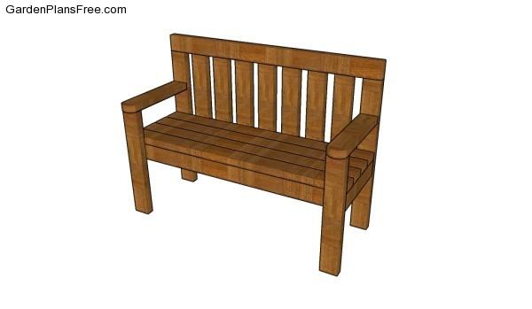 2x4 bench plans GPF