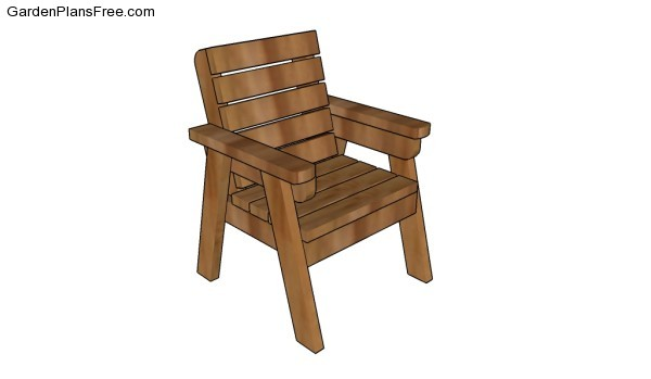 Outdoor Chair Plans Free Garden Plans How To Build