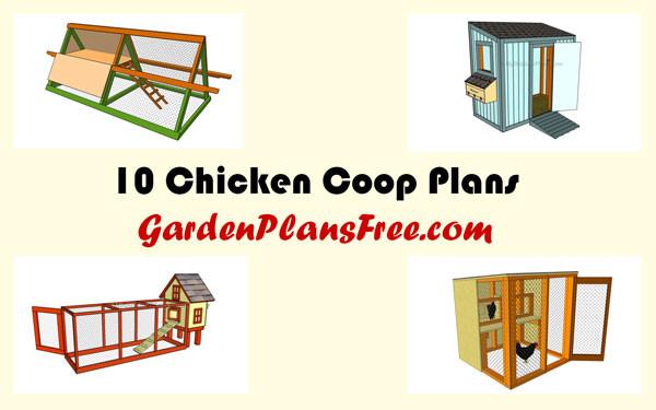 10-Free-Chicken-Coop-Plans