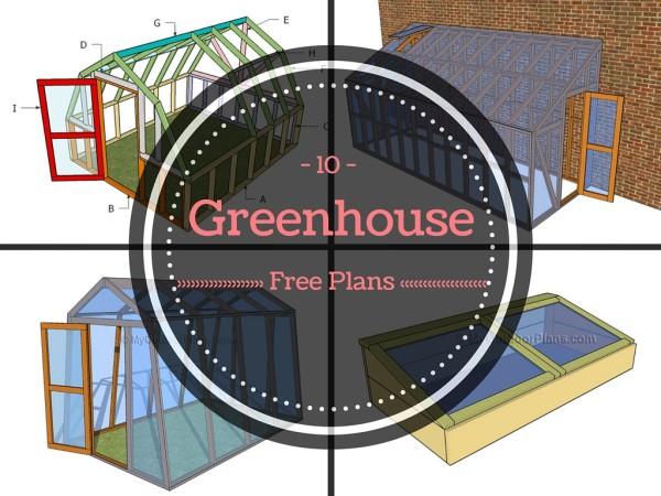 10 Free Greenhouse
