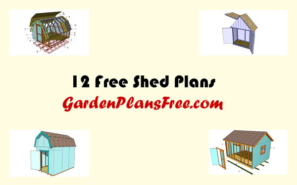 12-Free-Shed-Plans
