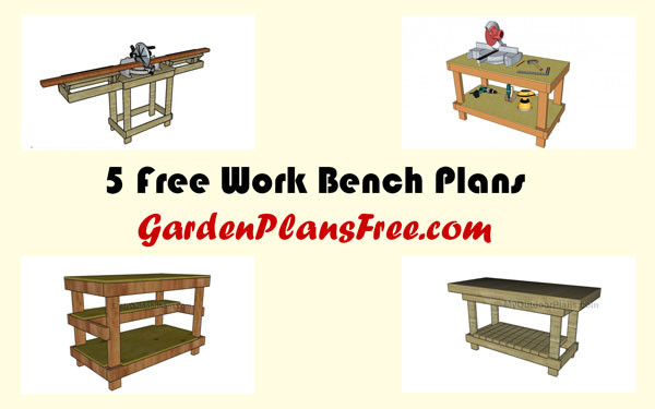 5-Free-Work-Bench-Plans