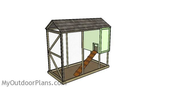 Backyard-chicken-coop-plans