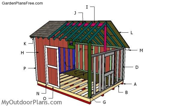 22 Free Shed Plans Free Garden Plans How To Build Garden