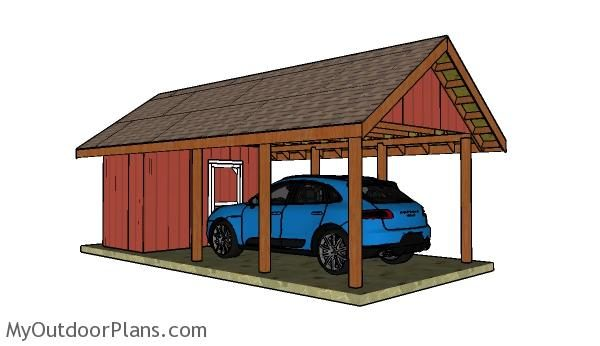 7 Free Carport Plans Free Garden Plans How To Build Garden Projects